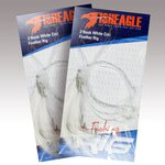 Fisheagle 3 Hook White Cod Feather Rig