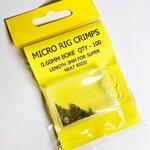 Fisheagle 3mm Micro Crimps 0.60mm Bore x 100