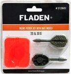 Fladen Anti-Roll Inline Feeder Set with Bait Mould - 20g & 30g