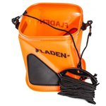 Fladen EVA Orange Collapsible Bucket