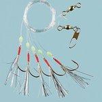 Fladen Silver Flash Sea Rig - 5 Hook Size 1/0