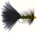 Fulling Mill Wooly Bugger Olive (Gold Nugget)