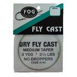 Fog Dry Cast 3yd Taper