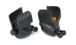 Fox Black Label Adjustable Rod Clip 2pc