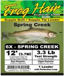 Frog Hair 12ft Spring Creek Leader