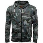 Game Camouflage Zip Hoodies