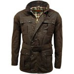 Game Continental Belted Wax Jacket