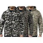 Game Digital Camouflage Zip Hoodie