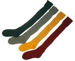 Bisley Plain Olive Stockings