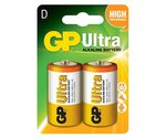 GP Batteries Ultra 1.5v D Batteries 2pack