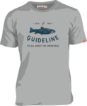 Guideline The Trout ECO Tee - Grey Melange