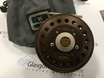Preloved Hardy Golden JLH Ultralite Salmon Fly Reel (England) - Excellent