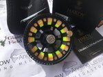 Hardy Preloved - Ultralite 5000 #5/6/7 CA DD Black Fly Reel (Boxed) - Excellent