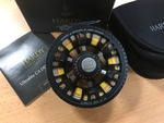 Preloved Hardy Ultralite 5000 CA DD Black Fly Reel (Boxed) - Used