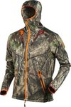 Harkila Moose Hunter Fleece Jacket Mossyoak Break-Up Country/Mossyoak Orangeblaze