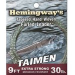 Hemingway Furled Leader Taimen 8ft 30lb