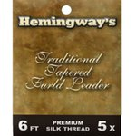 Hemingway Furled Leader Traditional Silk 6ft 5X