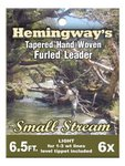 Hemingway Tapered Hand Woven Furled Leader Small Stream