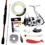HTO Tronixpro Rockfish Outfit 7ft6 3-15g 2pc