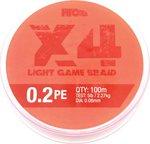 HTO X4 Light Game Braid