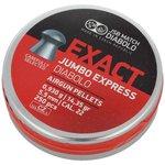 JSB Exact Jumbo Express 14.35gr .22cal 5.52mm 250pc