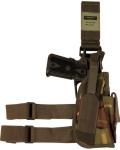 Kombat Tactical Leg Holster & Mag Pouch DPM Camo