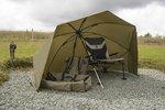 Korum 50in Graphite Brolly Shelter