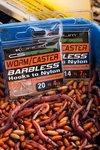 Korum CS Barbless HTN Worm/Caster Hooks