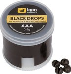 Loon Black Drop Twist Pot