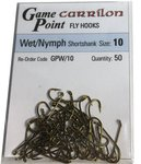 Lureflash Carrilon Wet/Nymph Short Shank Hooks 50pc