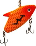 Lureflash Powerstorm Vertical Minnow 5cm Red/Orange