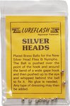 Lureflash Silver Heads