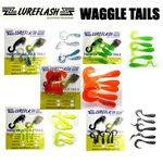 Lureflash Twister Waggle Tails