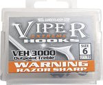 Lureflash Viper Extreme Outpoint Treble Hooks