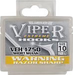 Lureflash Viper Extreme Short Shank Hooks