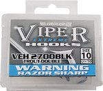 Lureflash Viper Extreme Trout Double Hooks