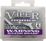 Lureflash Viper Extreme Tube Treble Hooks