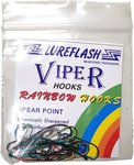 Lureflash Viper Rainbow Hooks