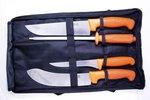 Mjoelner Venison Butcher Set with 3 Knifes and Sharping Steel
