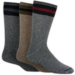Muck Boots Wigwam American Wook Boot Sock 3 Pack Assorted