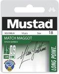 Mustad AS09 Match Maggot Hooks to Nylon