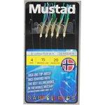 Mustad Bi-Colour Fish Skin