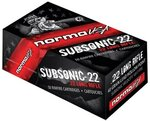 Norma 22LR SubSonic Hollow Point 40 Grain (50 Box)