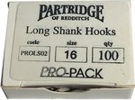 Partridge Pro-Pack Long Shank Sz16 100pk
