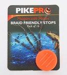 PikePro Braid Friendly Stops x 16
