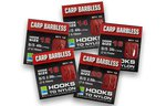 Preston Innovations Barbless Carp Hooks To Nylon 10pc