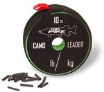 Quantum Mr. Pike Camo Coated AFW Leader Material 10m 14kg.30lbs Camo