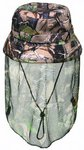 Ridgeline Water Resistant Veiled Buffalo Camo Bush Hat (one size)