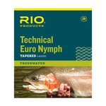 Rio Technical Euro Nymph Leader With Tippet Ring 14ft 2X/4X