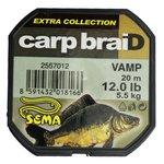 Sema Carpbraid Vamp Grey / White